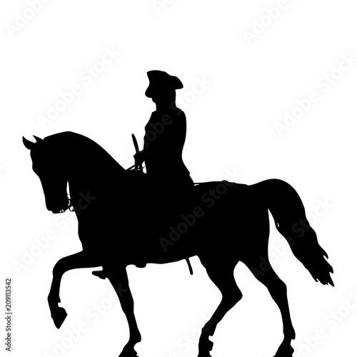 militar a caballo