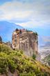 Leinwanddruck Bild - Monastery of the Holy Trinity i in Meteora, Greece