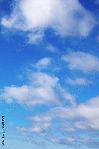 Foto Murales Clouds in sky