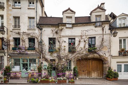 Paris France April 30th 2013 Quaint restaurant in Paris, France