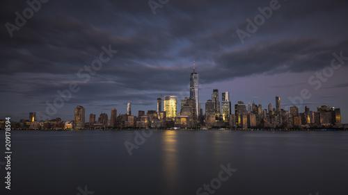 Foto Murales New York City skyline at night