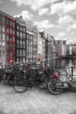 Traditional old buildings in Amsterdam - 209191930