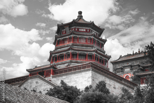 Fotobehang Peking Summer Imperial Palace on the outskirts of Beijing