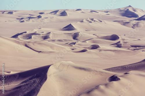 Fotobehang Galyna A. Sand dunes