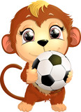 beautiful cute monkey - 209213794