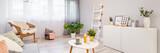 Decorations in scandinavian living room - 209215309