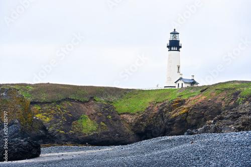 Fotobehang Vuurtoren Yaquina Head Lighthouse