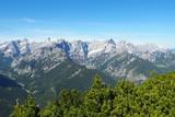 Karwendel Gipfel Tour Panorama