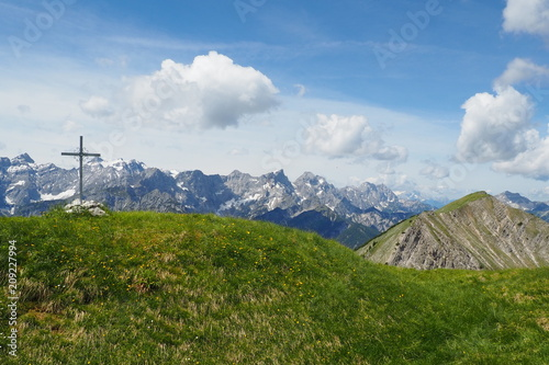 Gipfeltout Meat Bank, Karwendel Mountains, Eng Austria