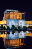 Ali Qapu grand palace at night. Isfahan. Iran - 209232361