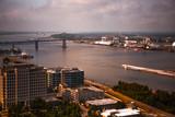 Baton Rouge Downtown Capitol Area, Louisiana i-10 Bridge