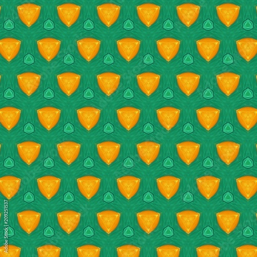 Seamless pattern background. Symmetric vintage fabric texture. Decor for design trendy fashion clothes, textile and print. High resolution desktop wallpaper. Template for hand made products decoration - 209251537