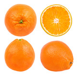 Juicy orange isolated on white background with clipping path - 209252192