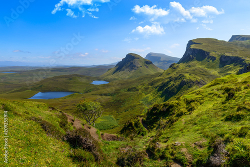 Fridge magnet The Quiraing