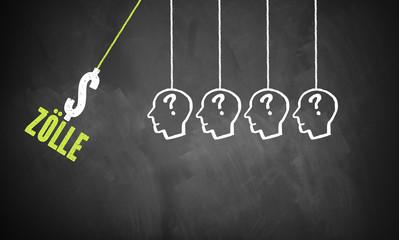 Zölle treffen auf Menschen und lösen Kettenreaktion aus