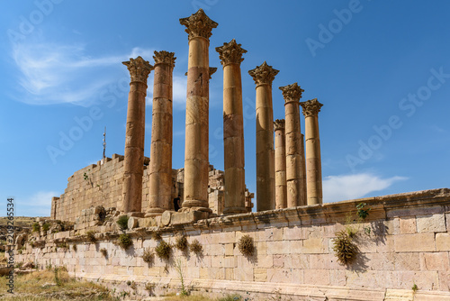 Wall mural Giordania antiche rovine di Jerash