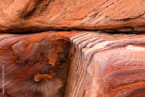 Aluminium Koraal Giordania, Petra