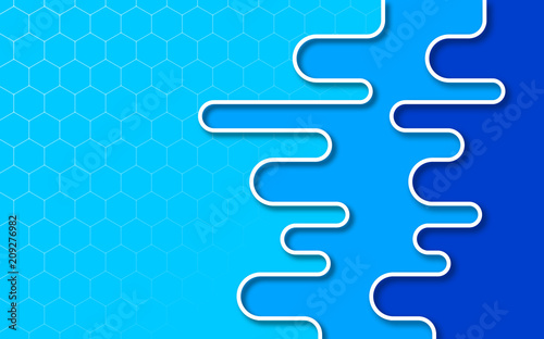 Canvas Abstractie Art Blue abstract background