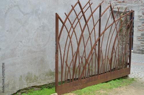 Foto Murales yard gate