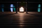 Street light on Boardwalk - 209288106