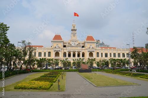 Wall mural  saigon vietnam