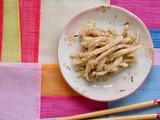 한국의 음식 무 들깨무침 - 209293140