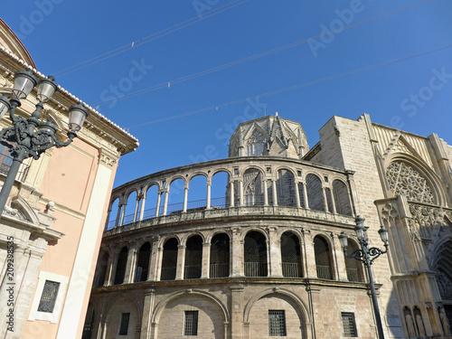 Valencia Cathedral from Plaza de la Virgen