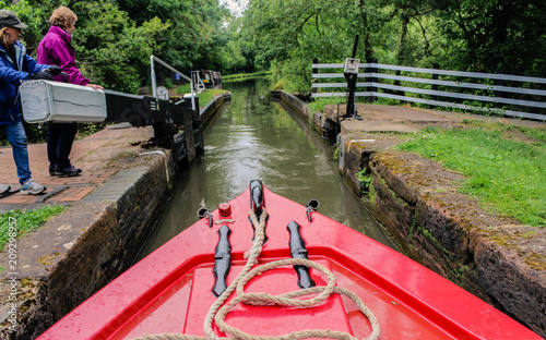 łodzie kanałowe w Anglii