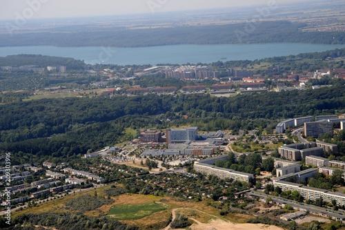 Neubrandenburg, Ostzstadt mit Kliniken