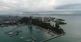 Aerial view Flying Pattaya beach Thailand - 209306542