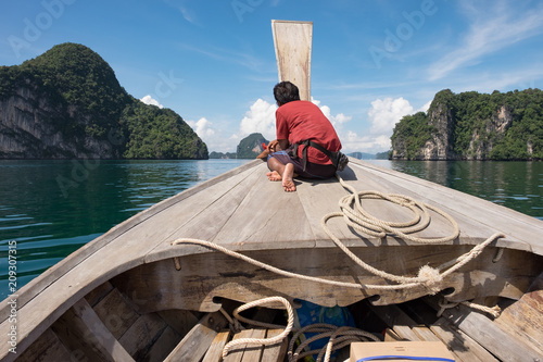 Aluminium Thailand Thailand Bootsfahrt