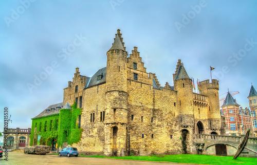 In de dag Antwerpen Het Steen, a medieval fortress in Antwerp, Belgium