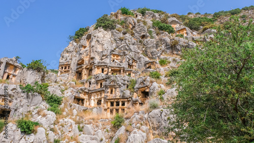 Poster Mira - ancient city in Lycia West in Turkey