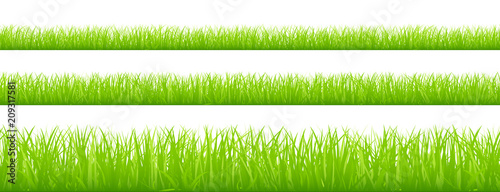 3 Straight Meadow Banner Set Green - 209317581