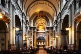 BOLOGNA, ITALY - May 27, 2018: Bologna Cathedral in Bologna city, Italy