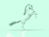 Unicorn pastel 3D render - 209325903