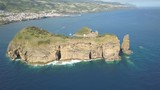 Island of Vila Franca do Campo in Sao Miguel (Azores) aerial view - 209329358