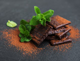 Chocolate and mint - 209351790