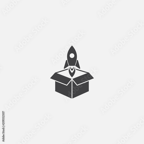 Fototapeta Product release icon. Simple element illustration