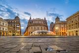 Piazza De Ferrari square in Genoa, Italy - 209366374
