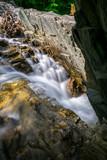 Trues Brook cascade falls