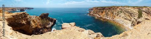 Foto Murales Summer Atlantic coast (Algarve, Portugal).