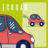 Electric car vehicle - 209387946