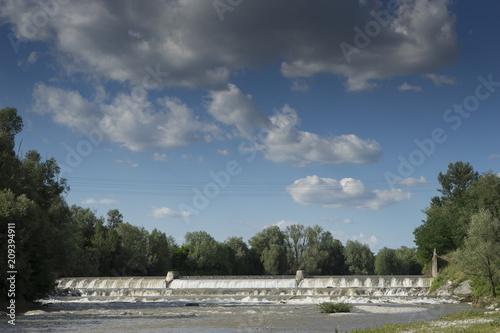 Foto Murales River in the Pò Valley
