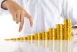 お金のビジネスイメージ - 209412152