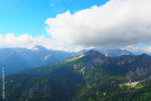 Aluminium Nachtblauw Naturerlebnis Klammspitze - Hirschwang Ammergebirge