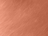 Copper metal texture with circular scratches. - 209428997