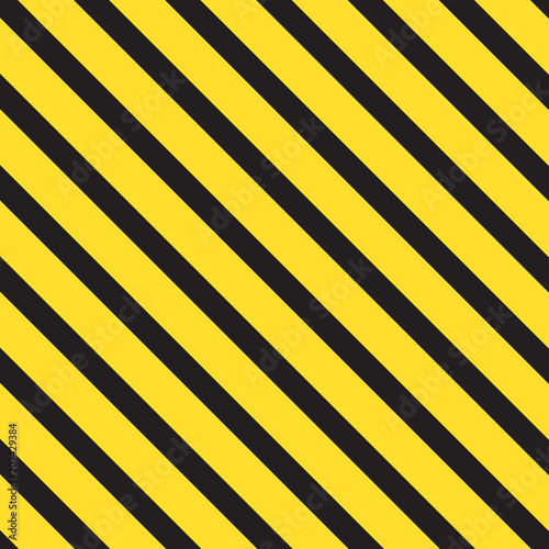 black and yellow striped backgorund- vector illustration