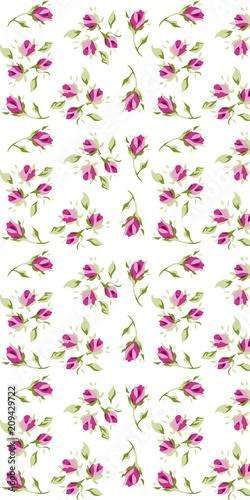 rose pattern - 209429722