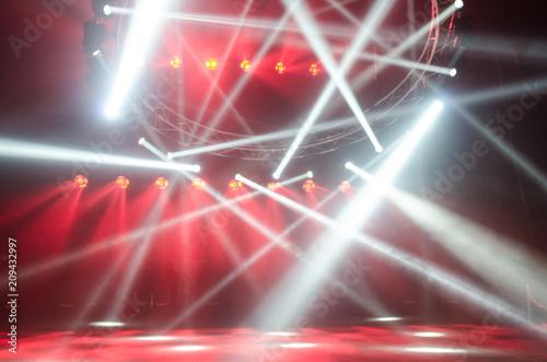Fototapeta Disco lights